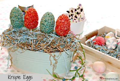 Krispie Eggs