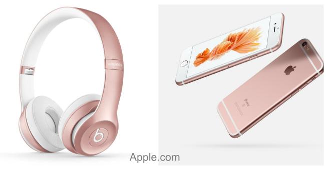 rose gold - apple